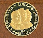 MAN IN SPACE GOLD MEDAL.