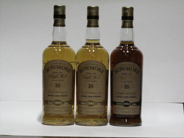 Bowmore-16 year old-1989 (2)Bowmore-16 year old-1990