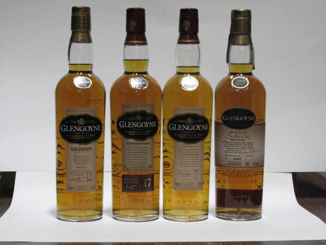 Glengoyne-12 year oldGlengoyne-16 year oldGlengoyne-17 year oldGlengoyne-17 year old (2)