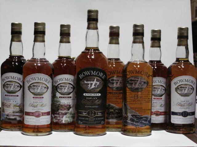 Bowmore- 12 year old  Bowmore- 15 year old (2)   Bowmore- 17 year old  Bowmore (2)   Bowmore  Bowmore  Bowmore  Bowmore