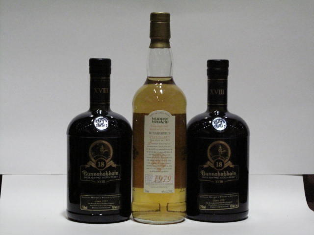 Bunnahabhain-18 year old (2)Bunnahabhain-20 year old-1979