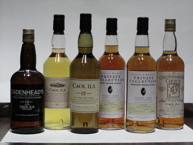 Caol Ila- 12 year old  Caol Ila- 12 year old  Caol Ila- 13 year old-1977  Caol Ila- 15 year old  Caol Ila- 1998  Caol Ila- 1998