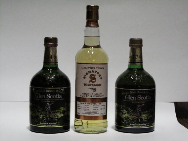 Glen Scotia-14 year oldGlen Scotia-17 year oldGlen Scotia-18 year old-1991