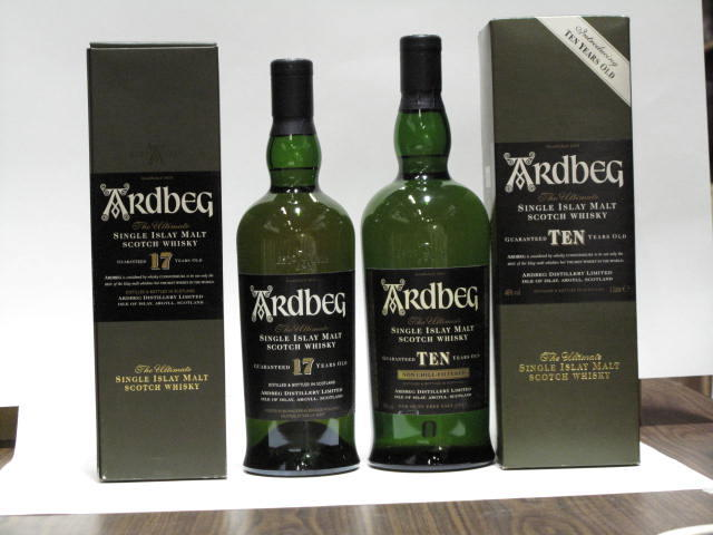 Ardbeg-10 year old (2)Ardbeg-17 year old (2)