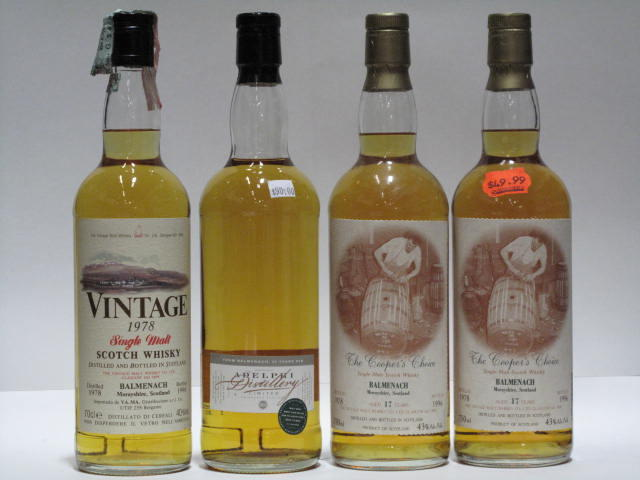Balmenach-17 year old-1978 (2)Balmenach-1978Balmenach-23 year old