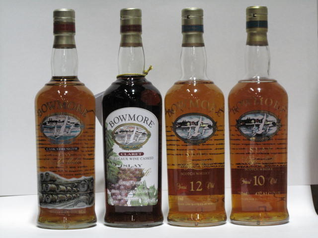 Bowmore- 10 year old  Bowmore- 12 year old  Bowmore (2)   Bowmore (2)