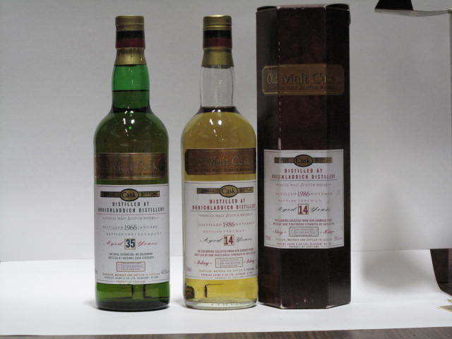 Bruichladdich-14 year old-1986 (2)Bruichladdich-35 year old-1966