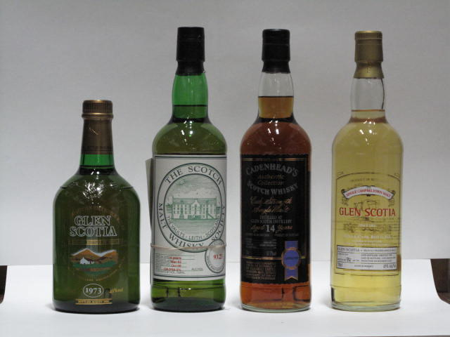 Glen Scotia-1999Glen Scotia-14 year old-1991SMWS 93.23Glen Scotia-1973
