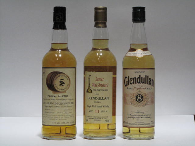 Glendullan-8 year oldGlendullan-11 year oldGlendullan-15 year old-1984