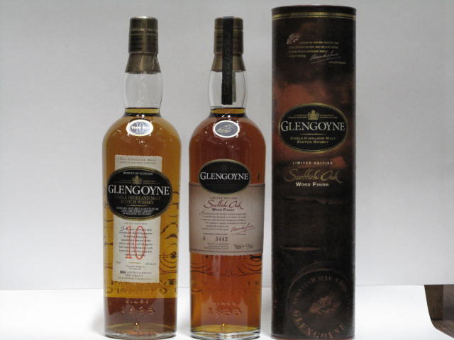 Glengoyne- 10 year old  Glengoyne- 16 year old (2)