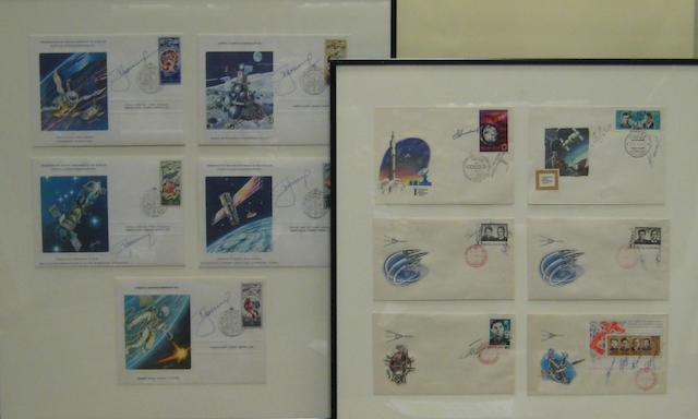 LEONOV'S FIRST DAY COVERS.