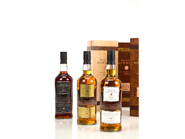 Bowmore- 42 year old-1964  Bowmore- 43 year old-1964  Bowmore- 44 year old-1964