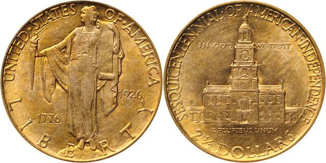 1926 Sesquicentennial $2.5 Genuine PCGS