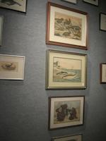 A collection of whaling colored engravings and lithographs 19th century and later