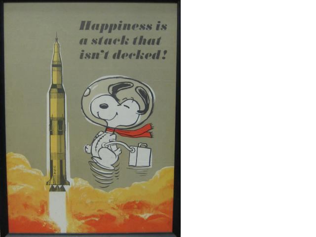 SNOOPY & OTHER SPACE CARTOONS—1960s.