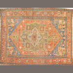 A Heriz carpet Northwest Persia, size approximately 9ft. 8in. x 12ft. 1in.