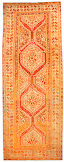 An Oushak long carpet Anatolia size approximately 8ft. x 21ft.