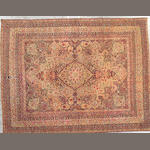 A Lavar Kerman carpet South Central Persia size approximately 9ft. x 12ft.