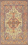 An Isphahan South Central Persia size apaproximately 4ft. 7in. x 7ft.