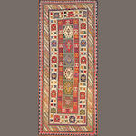 A Kazak runner Caucasus size approximately 3ft. 10in. x 8ft. 8in.