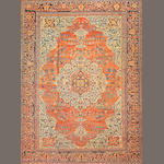 A Fereghan Sarouk carpet Central Persia size approximately 10ft. 5in. x 14ft.
