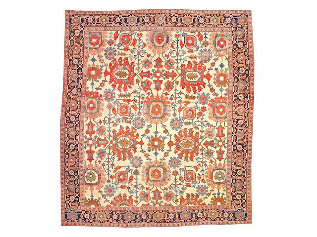 A Serapi carpet Northwest Persia size approximately 10ft. 5in. x 12ft.