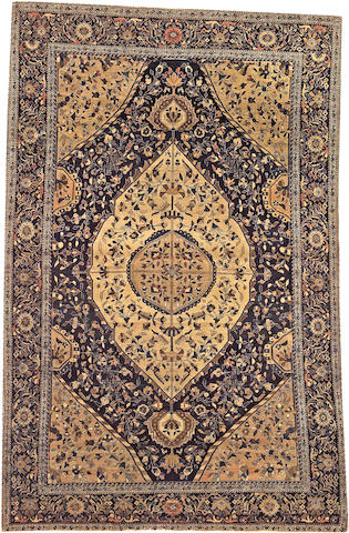 A Fereghan Sarouk rug Central Persia size approximately 4ft. x 6ft. 5in.