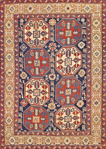 A Shirvan rug Caucasus size approximately 4ft. x 6ft.