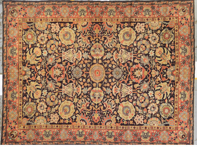 A Karabagh carpet Caucasus size approximately 6ft. 6in. x 8ft. 5in.