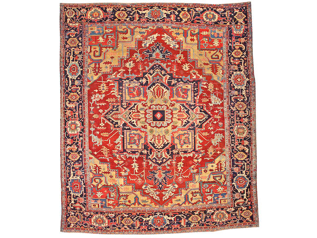 A Serapi carpet Northwest Persia size approximately 9ft. 8in. x 11ft. 8in.