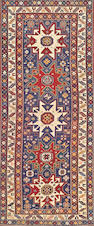 A Legghi Shirvan runner Caucasus size approximately 3ft. 7in. x 8ft. 7in.