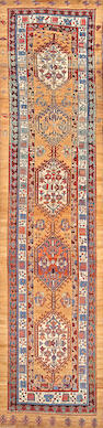 A Serab runner Northwest Persia size approximately 3ft. 8in. x 15ft. 2in.