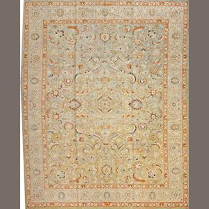 A Mashad carpet Northeast Persia size approximately 10ft. 1in. x 12ft. 7in.