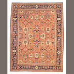 A Mahal carpet Central Persia size approximately 13ft. 5in. x 14ft. 9in.