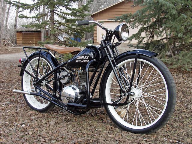 1953 Simplex 125cc Automatic Engine no. M15359B