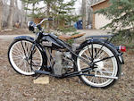 1953 Simplex 125cc Automatic Engine no. M15359B