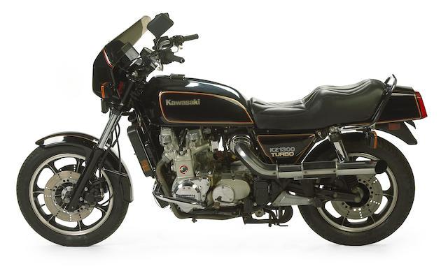 Denco Engineering Speedy special, one of six built,1981 Kawasaki KZ1300 Denco Turbo Frame no. JKAKZAA15BA012468 Engine no. KZT30AE013341