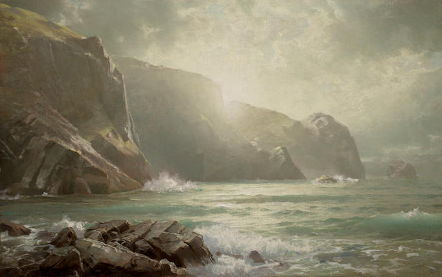 William Trost Richards, Cornish Coast