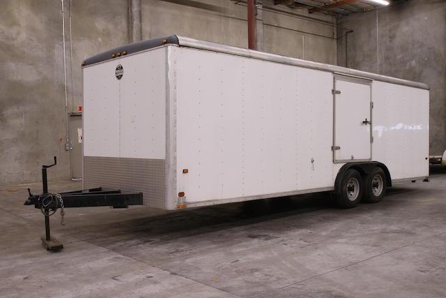 1997 Wells Cargo 24-foot Enclosed Car Trailer  Chassis no. 1WC200L21V4030188
