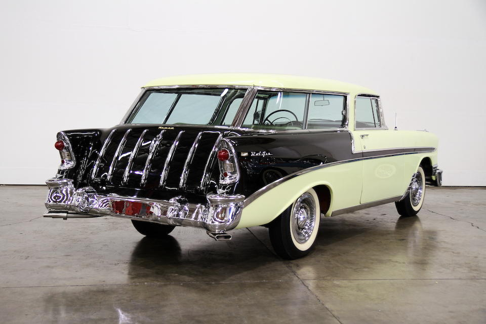 1956 Chevrolet Bel Air Nomad Wagon  Chassis no. VC56L074035