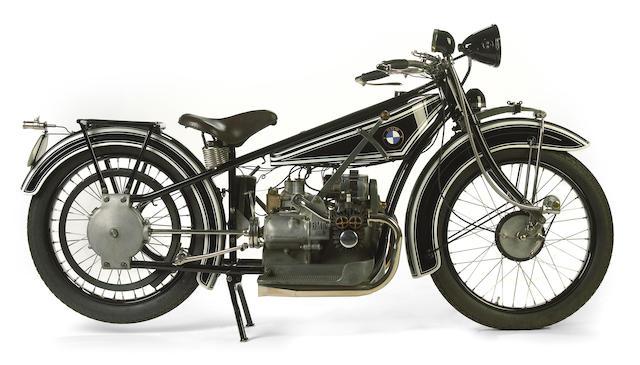 Blueprint for future BMWs,1925 BMW 494cc R32 Frame no. 33645 Engine no. 33645