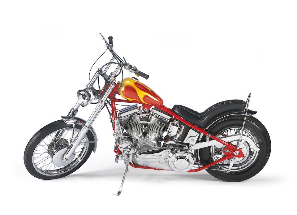 Built for Otis Chandler,1962 Harley Davidson 'Billy Bike' Recreation 1993 Engine no. 62FL6743