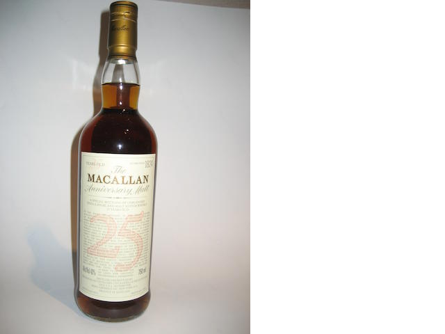 Macallan-25 year old-1972