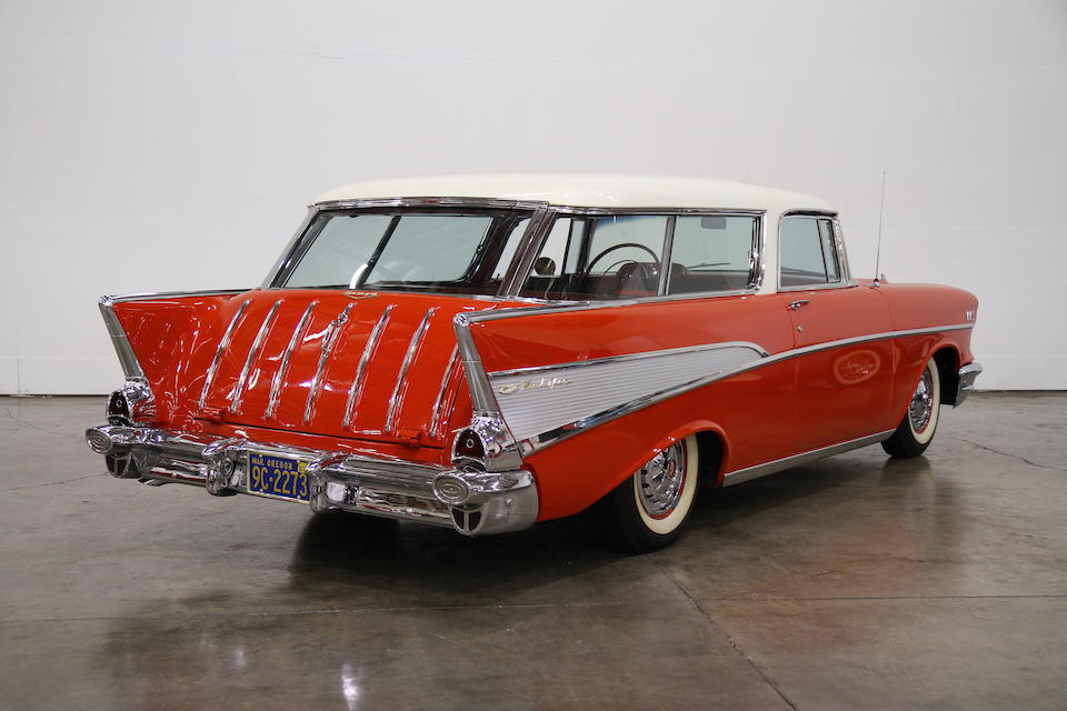 1957 Chevrolet Bel Air Nomad Sport Wagon  Chassis no. VC570101661