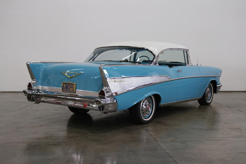1957 Chevrolet Bel Air Coupe  Chassis no. VC57L141265