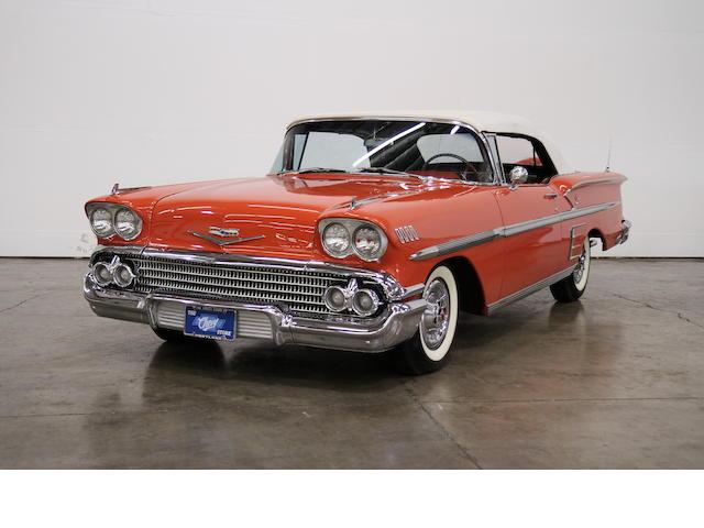 1958 Chevrolet Impala Convertible  Chassis no. F58B167439