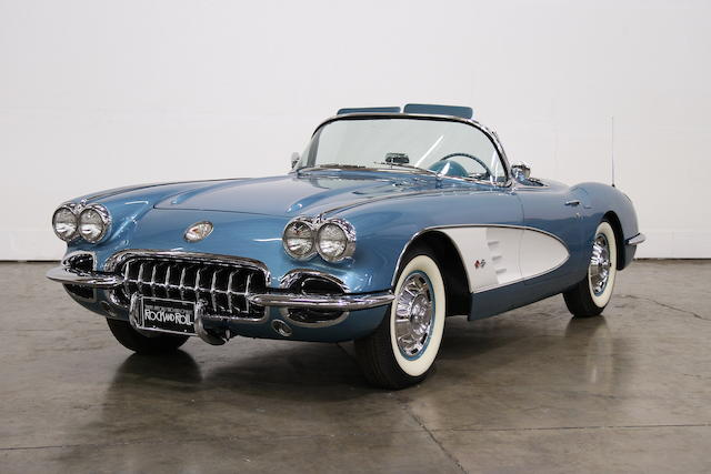 1960 Chevrolet Corvette  Chassis no. 00867S101120