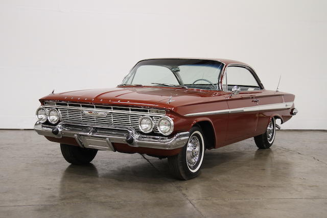 Four-Speed Manual, 409-powered, heavily optioned,1961 Chevrolet Impala SS 409 Sports Coupe  Chassis no. 11837L176077