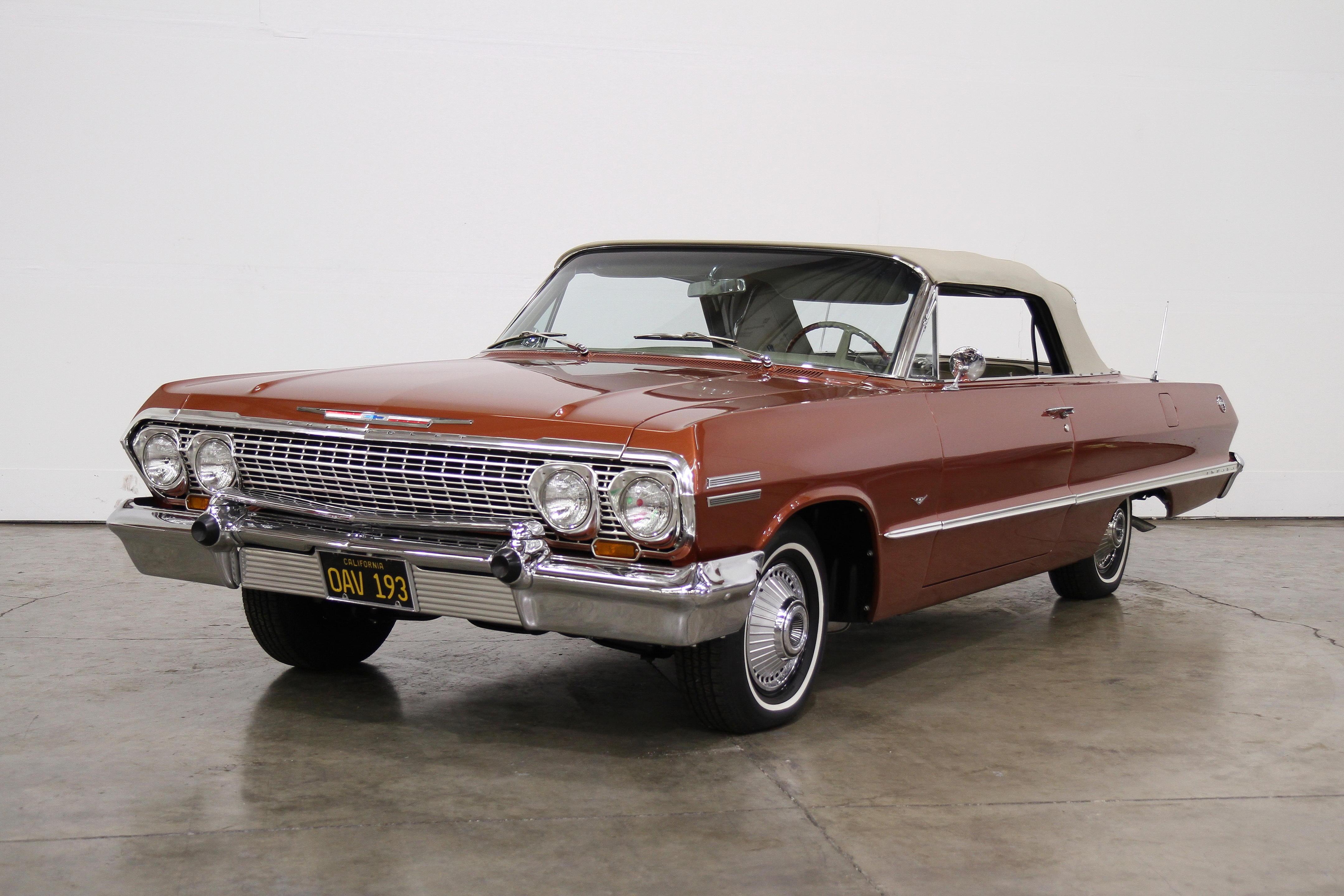1963 Chevrolet Impala Pair Full Size Horns