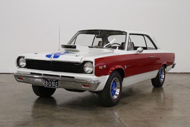 One of 1,512 S/C Ramblers,1969 AMC Rambler S/C Coupe  Chassis no. A9M097X302673